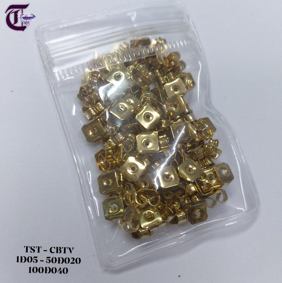 CHÔT BÔNG TAI VÀNG 100 ĐÔI - 01481