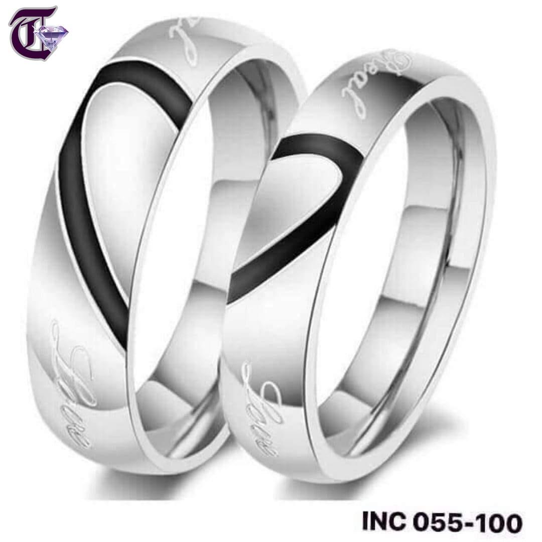 NHẪN CẶP INOX  INC 099